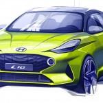 Gyári vázlaton mutatta meg magát az új Hyundai i10