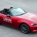 Egymillió Mazda MX-5-ös – modellgaléria