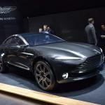 AMG eredetű V8-as motorral érkezik az Aston Martin SUV-ja