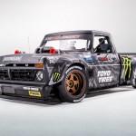 Egy teherautó Ken Block legújabb játékszere
