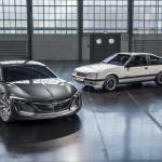 A paletta legnagyobb SUV-jaként, ráadásul elektromos hajtással térhet vissza az Opel Monza