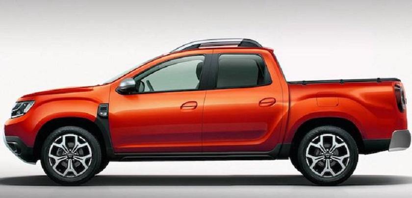 Hivatalosan is lesz pickup a Dacia Dusterből