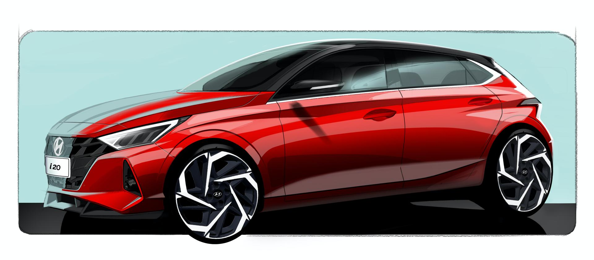 2020-Hyundai-i20-official-design-sketches-1
