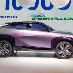 Leleplezték az elektromos Maruti Suzuki tanulmányt Indiában