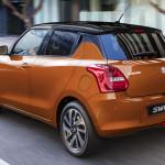 Alig észrevehetően, de megújult a Suzuki Swift