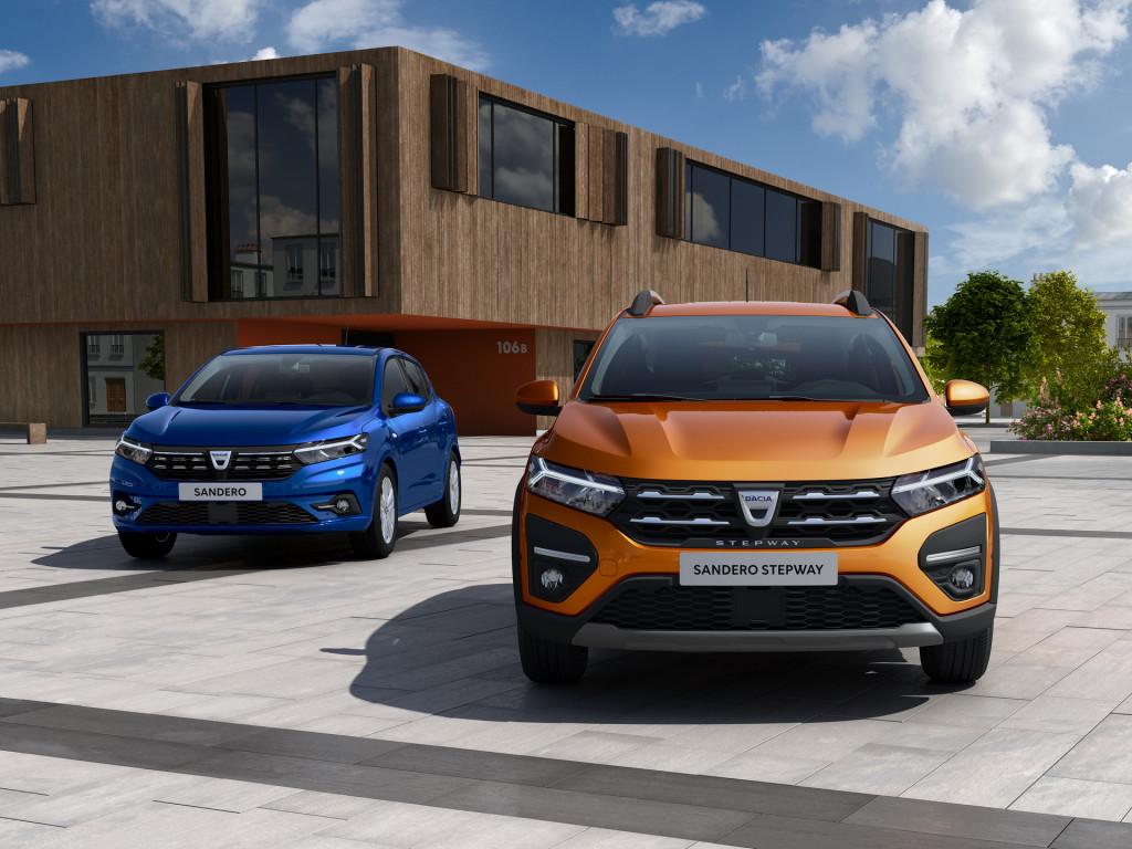 Így néz ki az új Dacia Logan és a Sandero