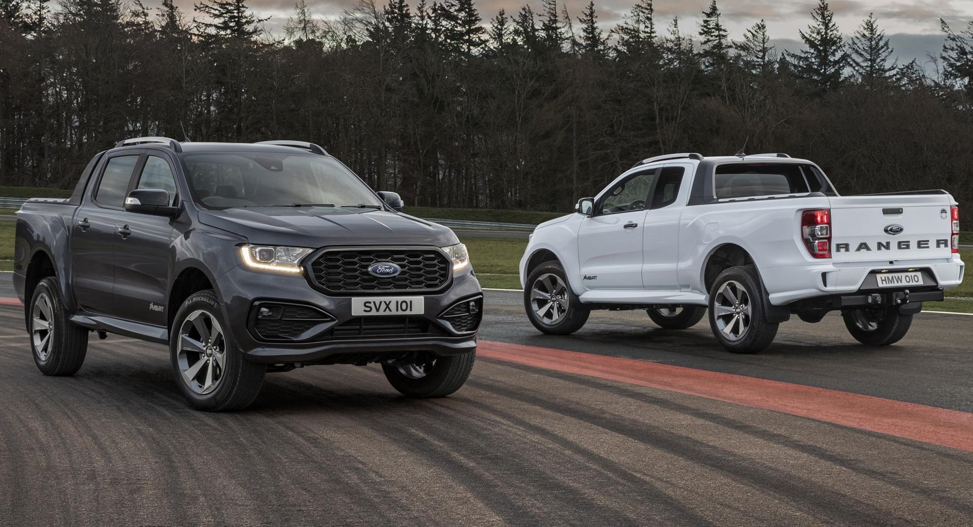 Hibrid hajtással is érkezik majd a Ford Ranger következő generációja