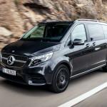 Légrugós felfüggesztéssel válik kényelmesebbé a Mercedes V-osztály