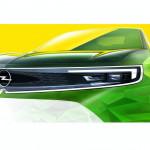 Gyári vázlatokon ismerhetjük meg az új Opel Mokka generáció orrát