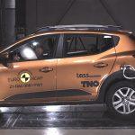 Majdnem megbukott az Euro NCAP tesztjén az új Dacia