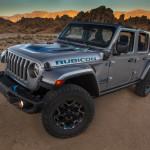 Bemutatkozott a legextrémebb Jeep hibrid, a Wrangler 4Xe