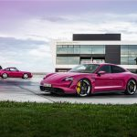 Színesebb lett a Porsche Taycan a frissítés után