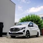 Hivatalosan is bemutatkozott az elektromos Mercedes kisbusz