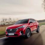Sportos külsővel és mild hibrid hajtással újult meg a Hyundai Tucson