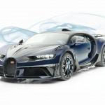 Karbonból sosem elég, azaz itt a Mansory által kezelésbe vett Bugatti Chiron.