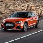 A várost szeli az Audi A1 emelt hasmagasságú változata