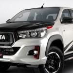 Toyota Hilux sportköntösben