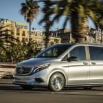 Közúton tesztelték a Mercedes elektromos kisbuszát