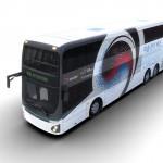 Elektromos emeletes buszt mutatott be a Hyundai