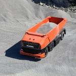 Önvezető teherautó koncepciót mutatott be a Scania