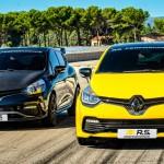 Versenyautós kiegészítőket kapott a Renault Clio RS