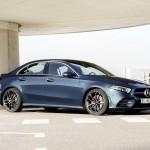 Most már lépcsőshátú kivitelben is kapható a Mercedes A-osztály csúcsváltozata