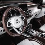 Ebbe a Mercedes X-osztályba tuti nem ülsz be sárosan