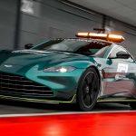 Bemutatkozott a Forma 1 új biztonsági autója, egy Aston Martin