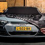Prototípusnak álcázhatod az E-Tron GT-det az Audi új ponyvájával
