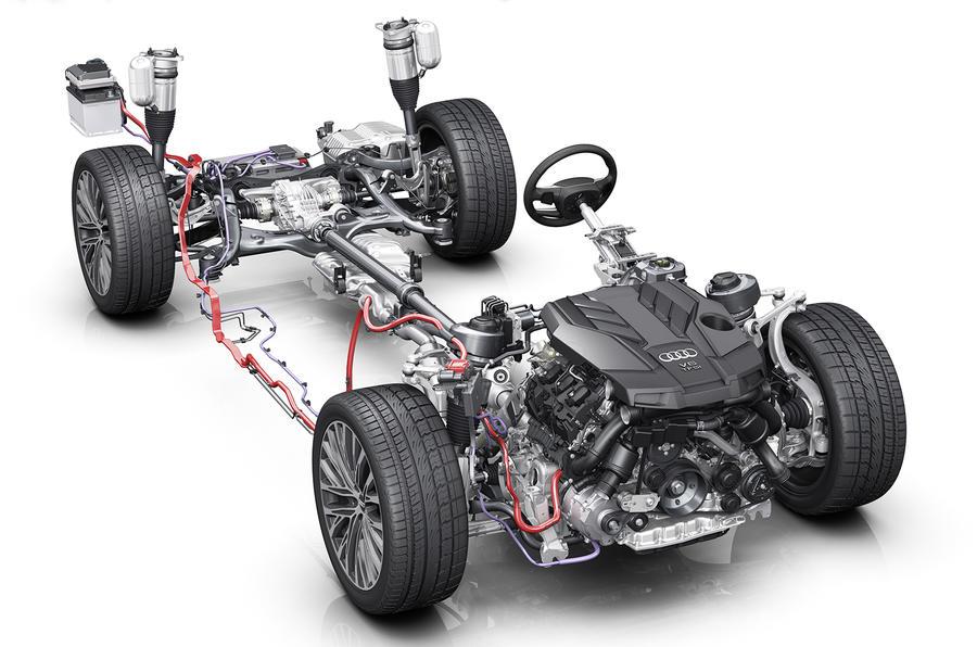 Holnap jön ki az Audi új A8-asa