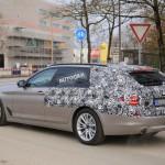 (Majdnem)Álcázás nélkül fut az új BMW 5-ös kombi