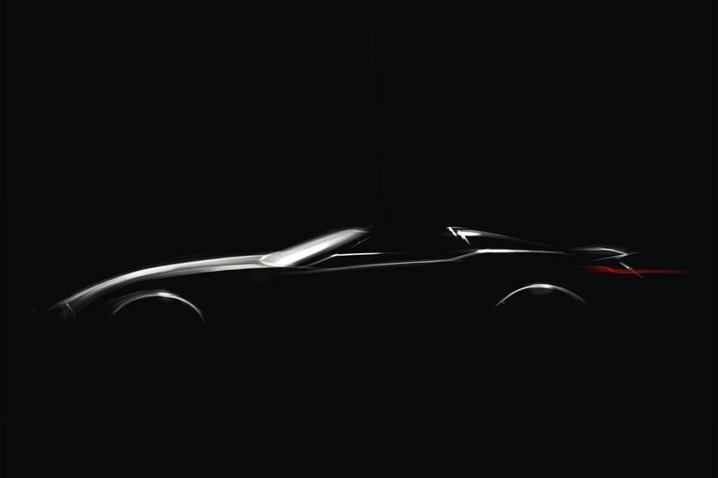 Az első kép az új BMW Z4 előfutáráról