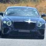 Már alig álcázzák az új Bentley Continental GT-t