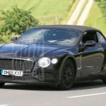 Tesztelés alatt a Bentley Continental GTC