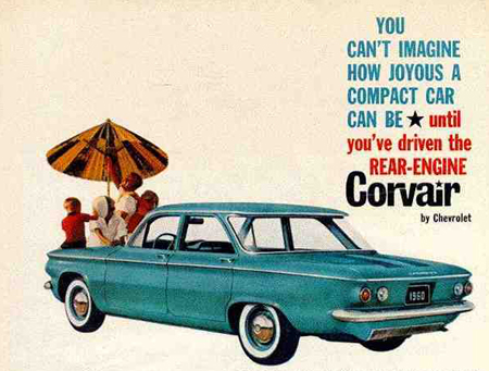 Nagy bukták: Chevrolet Corvair