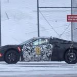 Tesztelik a vadonatúj Corvette-et