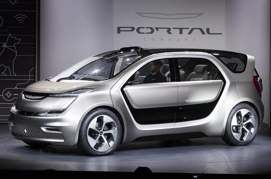 FCA Portal Self-Driving Concept World Debut