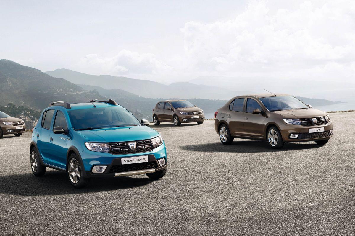 Dacia modells facelift 2017