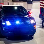 A belső hőmérséklet megemelésével öli meg a vírusokat a Ford rendőrautója