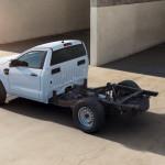 Csupasz alvázzal, azaz variálható felépítménnyel is kapható lesz a Ford Ranger