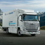 A Hyundai dobta piacra az első hidrogéncellás teherautót