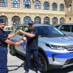 Luxusterepjárókat kaptak a magyar határőrök