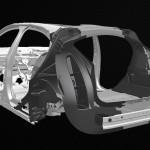 Könnyű kompozit vázat fejleszt az elektromos modellek számára a Jaguar