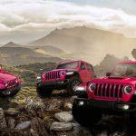 Rózsaszínben is itt a Jeep Wrangler