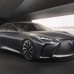 Hidrogénes verzióban is kapható lesz majd az új Lexus