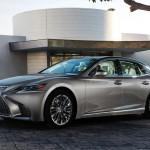Új Lexus LS 350-es – kifejezetten Kínának