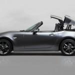 Mazda MX-5 elektromos kemény tetővel!