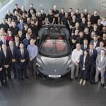 Elkészült a húszezredik McLaren a wokingi üzemben