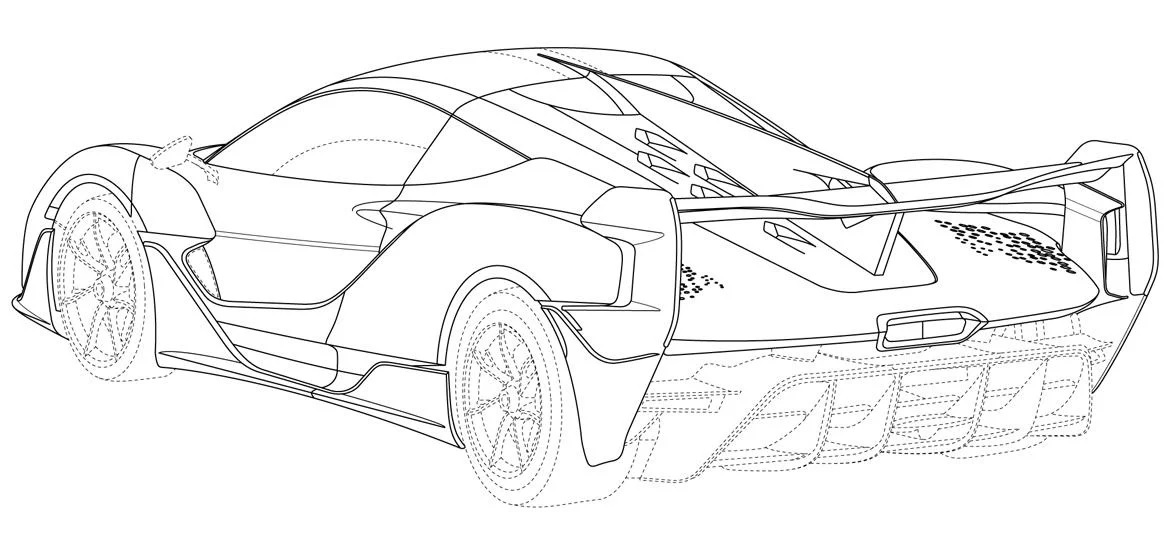Így néz ki a McLaren új hibrid szupersportkocsija