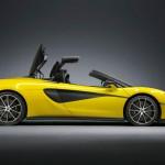 McLaren 570S Spider – összehajtható tetővel